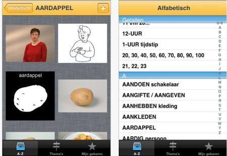 app gebarentaal