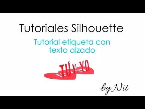 En este vídeo se enseña como crear, de forma fácil y rápida, diseños de etiquetas con textos alzados en el programa Silhouette Studio para que luego puedas c...