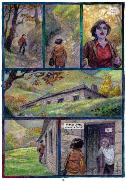 Páxina dun cómic dun dos máximos expoñentes do cómic galego, Miguel Anxo Prado. Podedes disfrutar da súa compañía nas súas visitas a O Garaxe Hermético, en Pontevedra