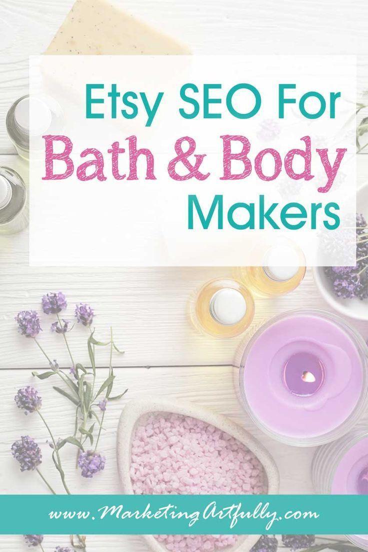 Etsy SEO für Bade- und Körpermacher … Haut, Haare, Seifen & Öle
