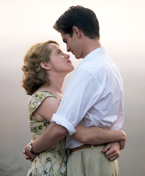New Still | Andrew Garfield and Claire Foy as Robin and Diana Cavendish in 'Breathe' by Andy Serkis | UK release October 27