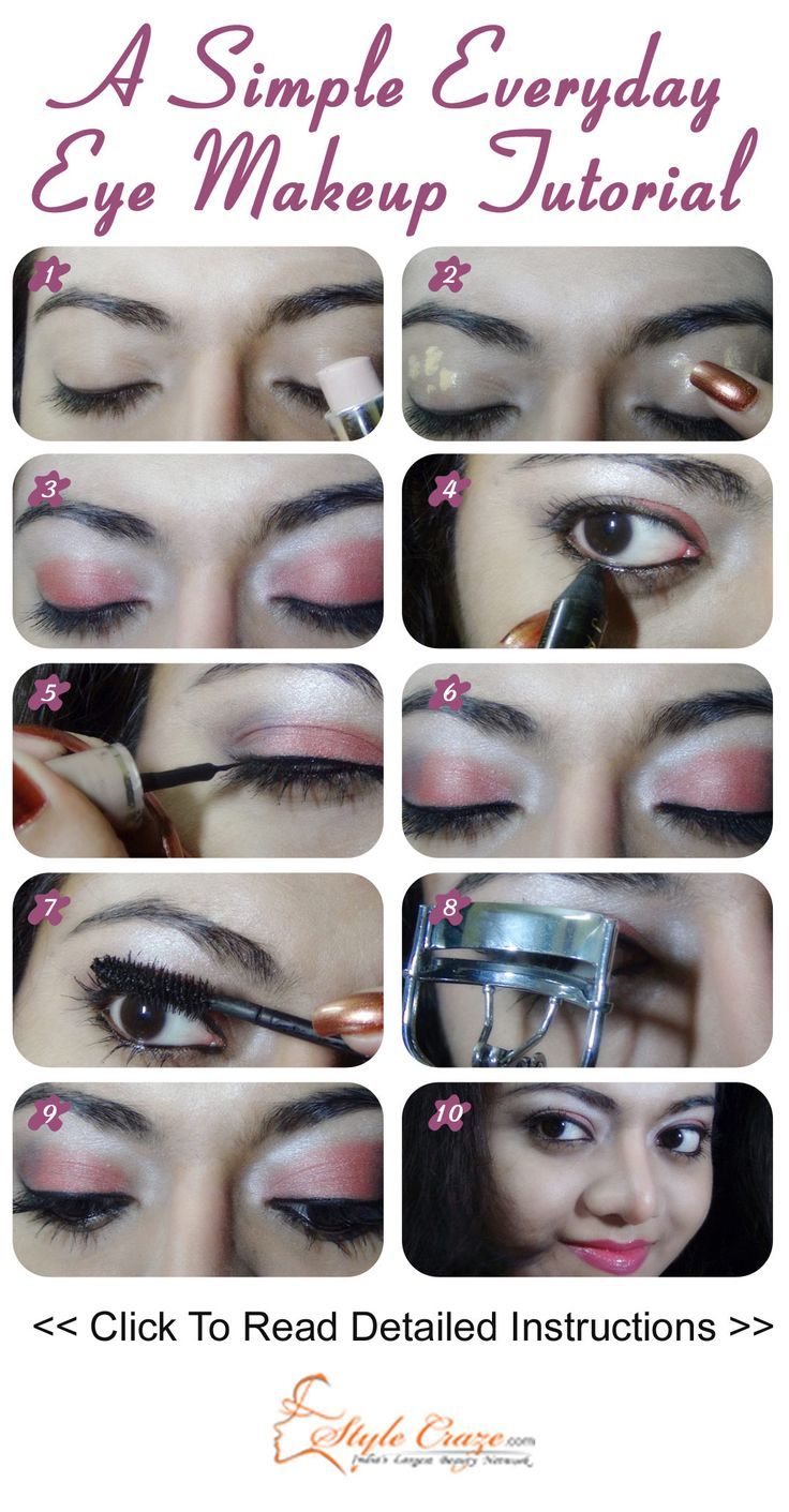 A Simple Everyday Eye Makeup Tutorial