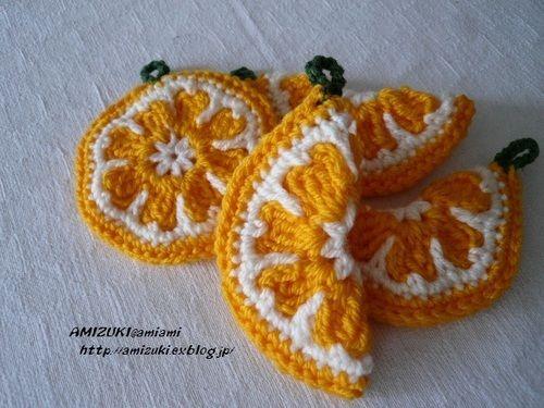 オレンジのエコたわし♪の作り方 編み物 編み物・手芸・ソーイング ハンドメイドカテゴリ アトリエ