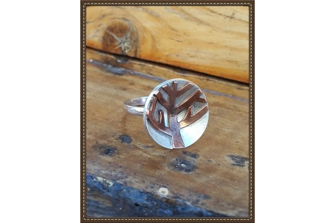 Tree of life ring by Isis