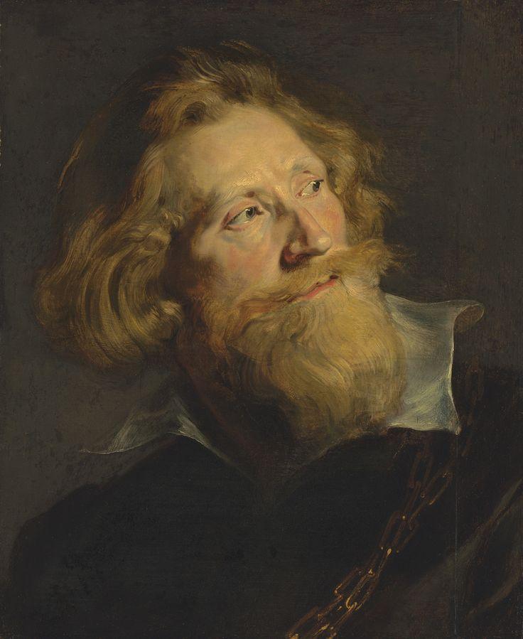 Peter Paul Rubens - Portrait of a Bearded Man - High Resolution Photo