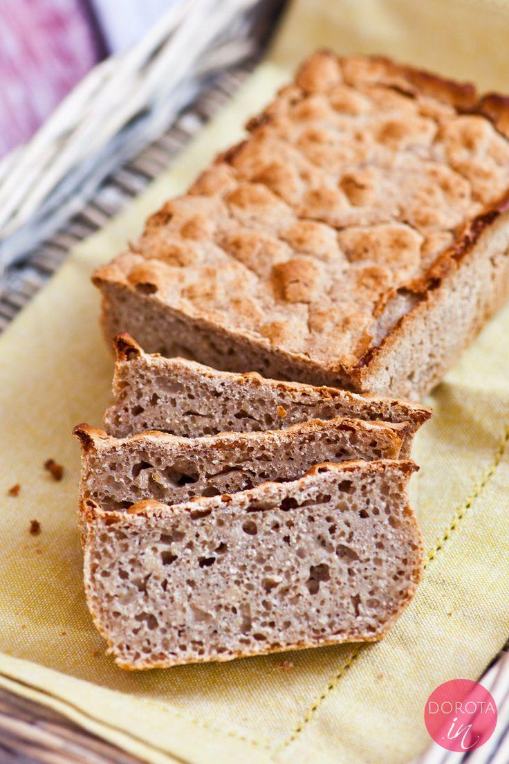 Chleb bezglutenowy #glutenfree #bread #chleb #pieczywo.  #przepis: http://dorota.in/chleb-bezglutenowy/