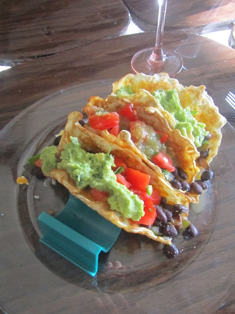 #lowcarb low carb vegetarian tacos :) low carb tortillas