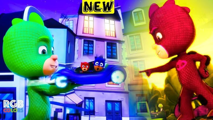 PJ Masks! Full Episodes! Disney Junior! 49-Super-Sized Gekko 50-Take to ...