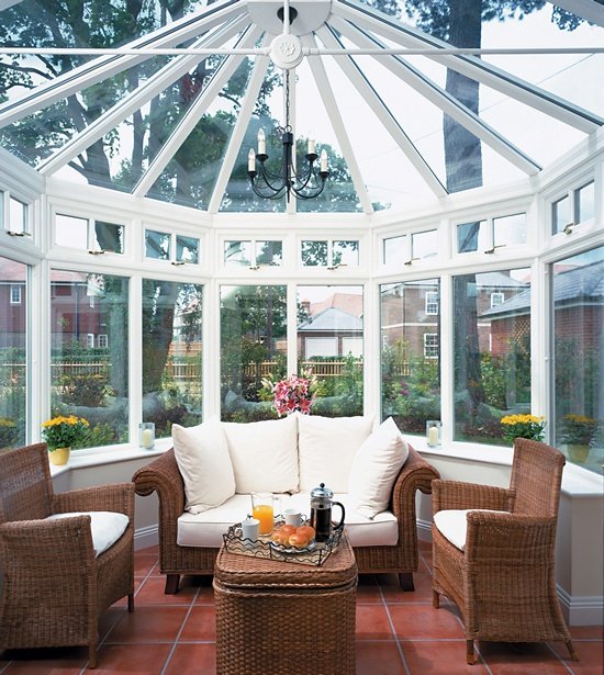 Replace Your Existing Conservatory Roof With A Garden Room: 101 Best Conservatories / Greenhouse Images On Pinterest