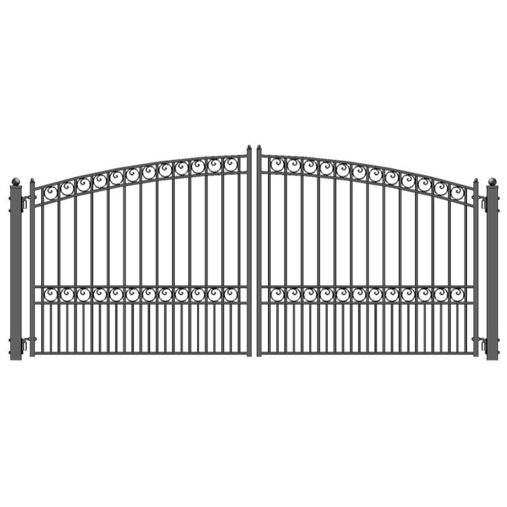 Best 25 iron gates driveway ideas on pinterest wrought for Aluminum driveway gates prices