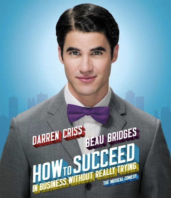 Darren Criss as J. Pierrepont Finch in How To Succeed-gooブログ