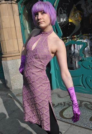 Glamouress lilac and gold Karen Millen dress