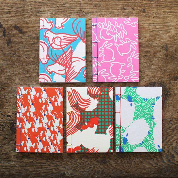 Japanese Stab Binding Pocket Notebook | UGUiSU Online Store