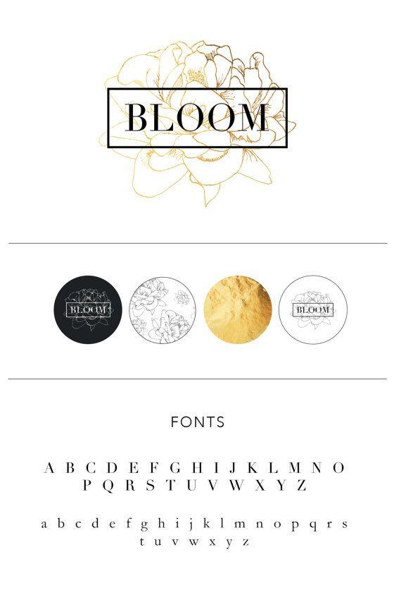 Florist Branding package Branding kit Marketing by EmandCoDesign                                                                                                                                                                                 More