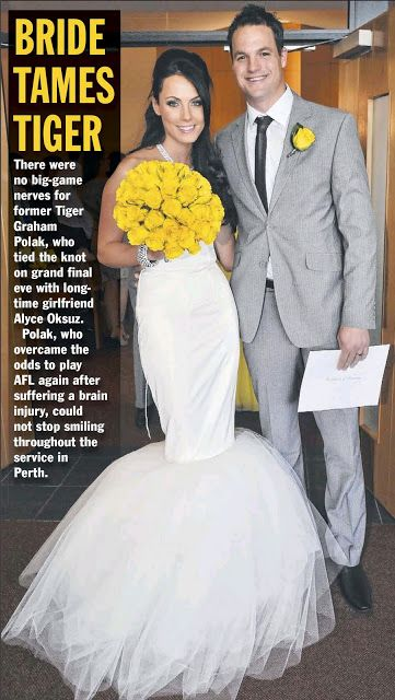 Beq Design Wedding Gown - Alyce Polak Wedding. Gown by: Rebecca Timson and Sam Elmslie
