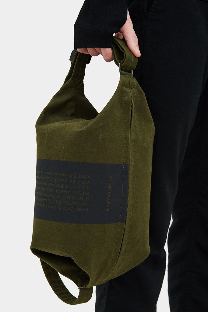 Transfer Bag 01 Army Green