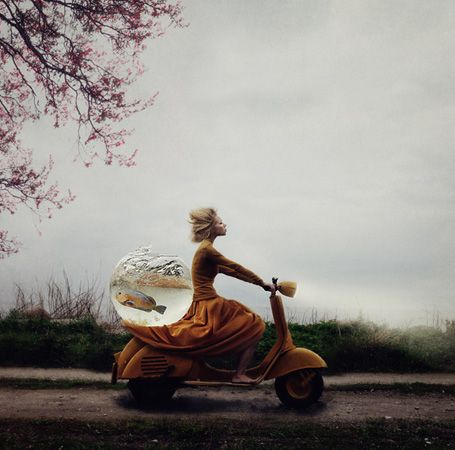 Photo manipulations by Kylli Sparre.
