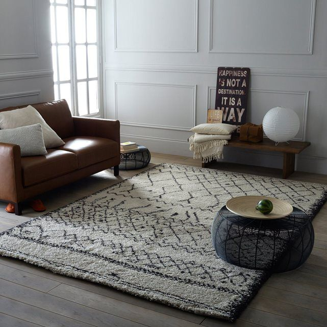 AFAW Shaggy Rug in 3 Sizes La Redoute Interieurs | La Redoute Mobile