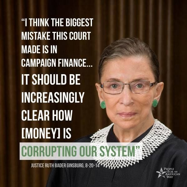 The campaign finance corruption will surely be written in history as the biggest political debauchery of or time.