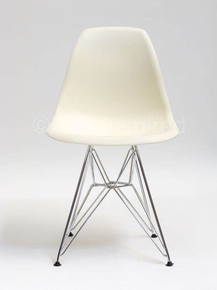 White Kitchen Chair Ideas. Eames Inspired DSR/Eiffel Chair  Cheaper option to John Lewis.  http://www.eameschairinspired.com/?gclid=CLGW_569yMQCFRSDfgodhI4AvA#/eames-dsr-chair-eames-dining/4540987476