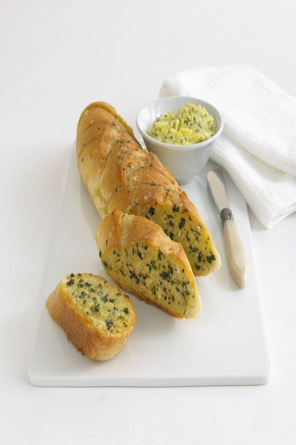 Garlic Bread Recipe GourmetGarden
