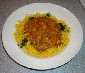 Easy vegetable curry (TM)