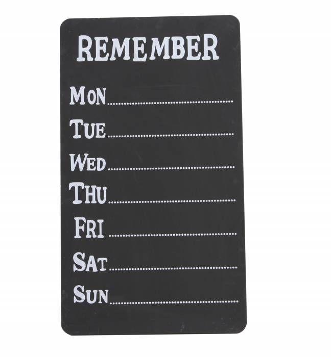 Schrijfbord Remember/days  Description: Schrijfbord Remember/days  Price: 16.95  Meer informatie  #woononline