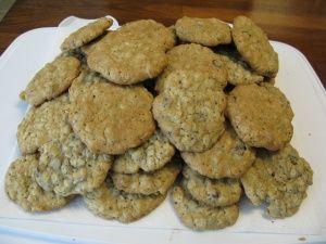 lactation cookies!  guys and non-nursing mamas may not want to eat any ;)
