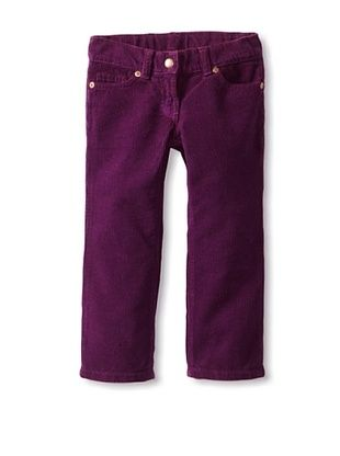 81% OFF Baby CZ Girl's Narrow Wale Girl's Cord Jeans (Sparkling)