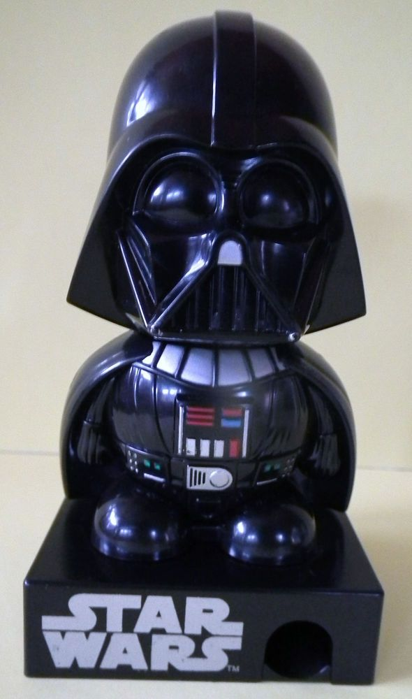 "Galerie Star Wars Candy Dispenser Darth Vader Electronic Voice 4 1/2"" tall"