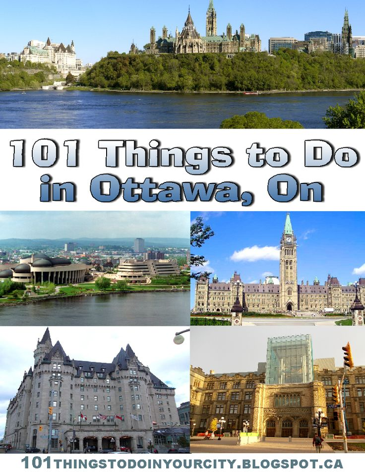 101 Things to do in Ottawa