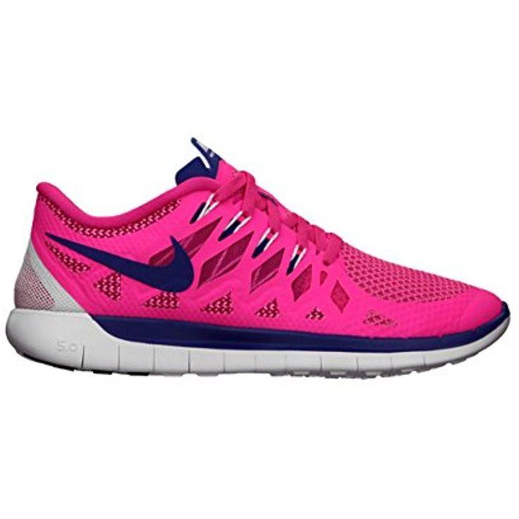 Nike Free Run 2 (GS) Laufschuhe pink glow-pink glow-atomic mango-metallic - 38 XIsgm