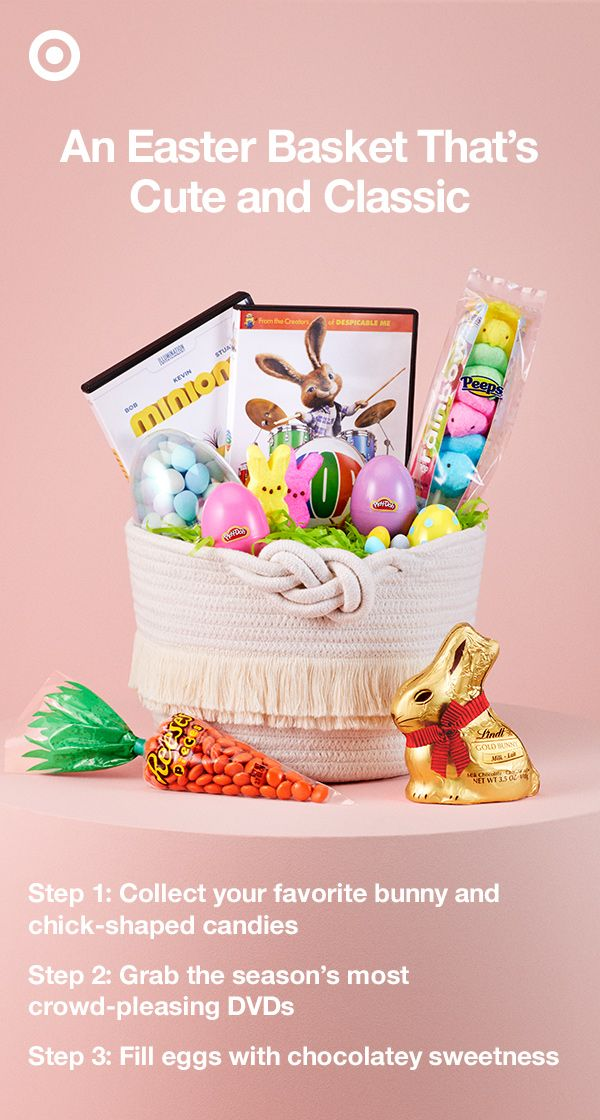 24 best easter essentials 2017 images on pinterest easter baskets bunnies and chocolate chicks and marshmallows easter classics never go out of style negle Choice Image