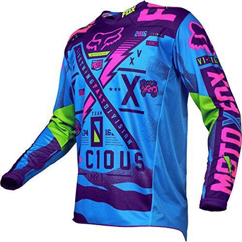 Fox Racing 180 Vicious SE Youth Dirt Bike Motorcycle Jerseys - Blue / Medium