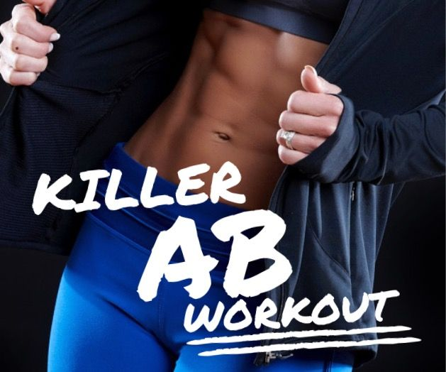 With Julie Lohre's Killer Ab Workout for Women, who says you need to wait until April to start working on a strong core and killer abs? Carpe diem my friends!