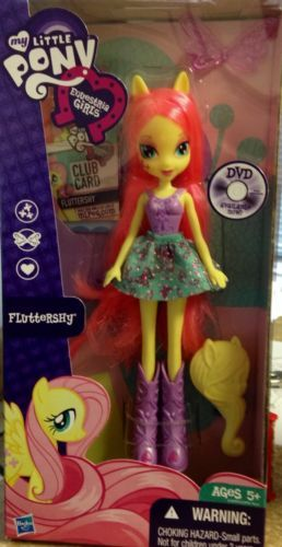 My Little Pony  Equestria Girls Doll Fluttershy NEW And In Hand