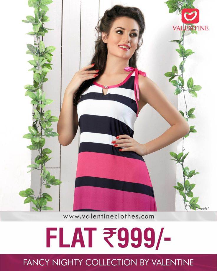 Make your Nights more Sexier than before. Buy Fancy Nighties at FLAT Rs. 999 only. Hurry!!! Shop now at https://valentineclothes.com/women/nighties.html #nighty #fancynighty #EOSS #offers #discounts #valentine #valentineclothes #madewithlove #happyshopping