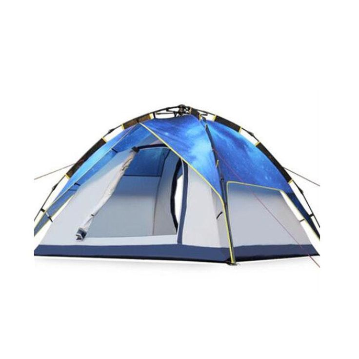 3-4 Person Tent Double Dome Sport TentAutomatic Pop Up Instant Anti-  sc 1 st  Pinterest & 977 best Hiking Tents images on Pinterest | Hiking tent Family ...