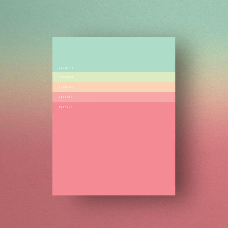 Minimalist Color Palettes 2015, Dumma Branding Agency, 2015.