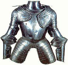 Corselete Parte de la armadura va desde los hombros hasta la cintura