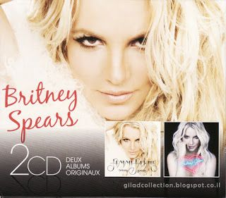 Britney Spears Collection by Gilad: 2CD: Britney Jean / Femme Fatale [Boxset]