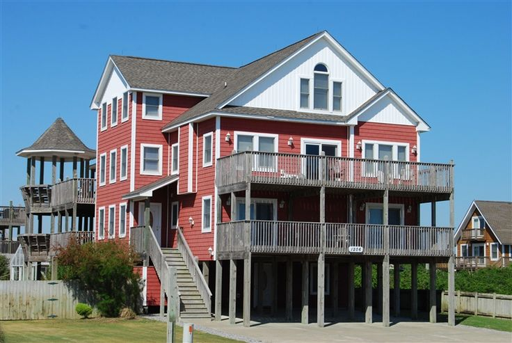 190 Best Outer Banks Vacation Rentals Images On Pinterest