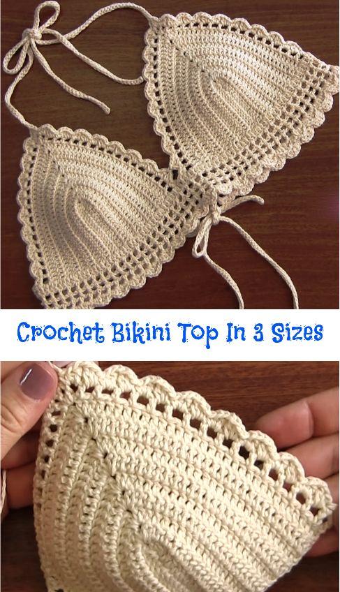 Bikini top in 3 sizes