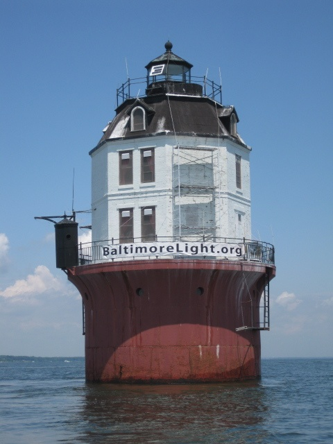 Baltimore Harbor Lightit sits at the mouth of the Magothy RiverChesapeake BayMarylandUS39.05919,-76.399