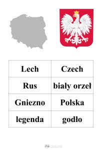 szablon do legendy o Lechu, Czechu i Rusie