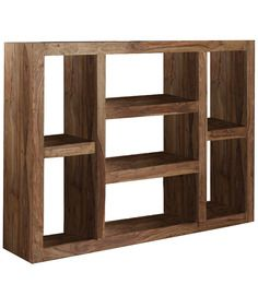 Mexico Book Shelf in Provincial Teak Finish by Woodsworth