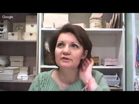 Декупаж от А до Я. 2-й день конференции «Декупаж от А до Я. Секреты мастеров» Анна Стойчева