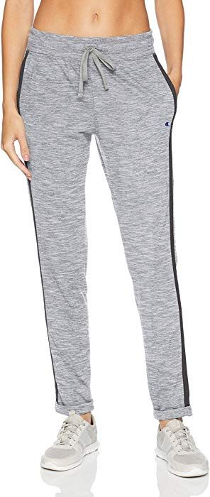 22180b47c Champion Women's Jersey Jogger Pant, Oxford Grey Granite Heather, XXL at  Amazon Women's Clothing store: