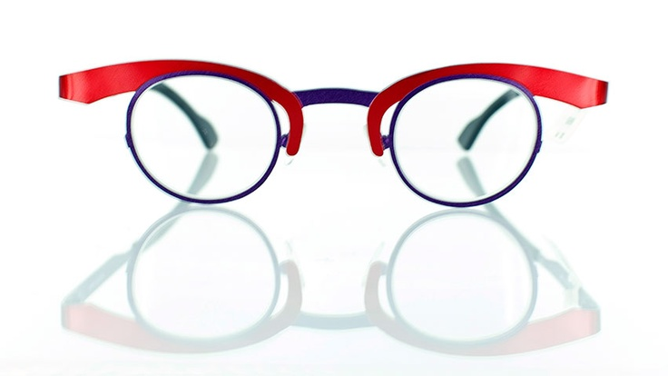 """Theo O : Designer round glasses - Find this Great """"Glassby"""" look at Goo Goo Eyes 