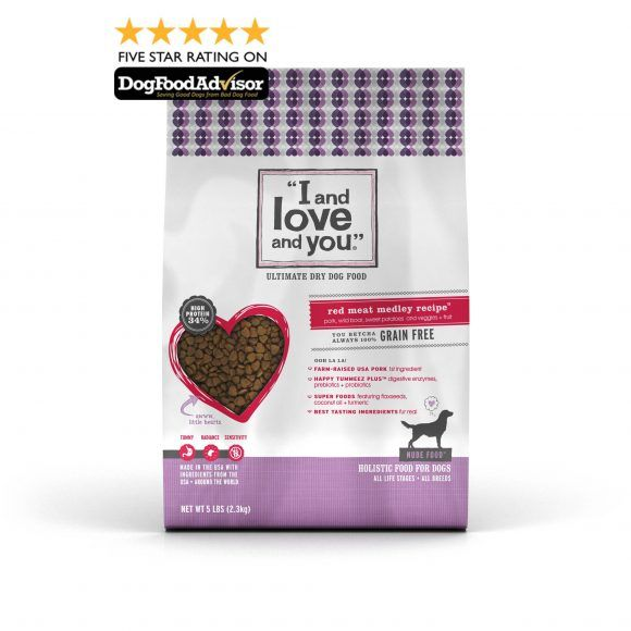 Red Meat Medley High Protein Grain Free Dog Food | I and Love and You